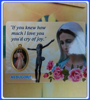 PC-EN_x04 Prayer cards Medjugorje Prayer Card - English