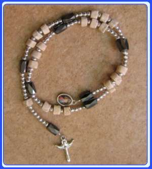 SMC-0103 Stone Peace Caplet of Mary Mother of God-magnetic beads